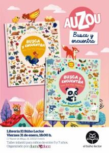 Taller para niños [Basado en los libros de la editorial Auzou] @ Librería El Búho Lector | Oviedo | Principado de Asturias | España