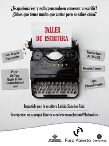 Taller de Escritura @ Librería Cervantes | Oviedo | Principado de Asturias | España