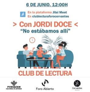 Club de Lectura - Foro Abierto - Librería Cervantes @ Plataforma Virtual Jitsi Meet | Oviedo | Principado de Asturias | España