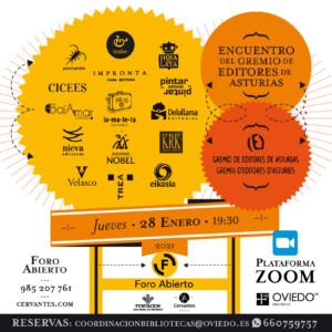 Encuentro con el Gremio de Editores de Asturias @ Plataforma ZOOM | Oviedo | Principado de Asturias | España