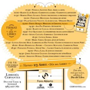 FIRMAS - Día del Libro 2021 @ Librería Cervantes | Oviedo | Principado de Asturias | España