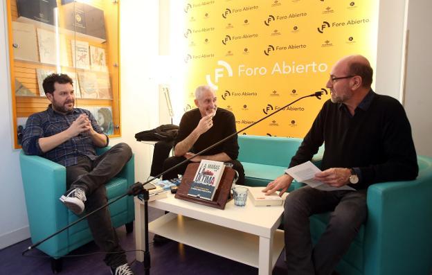 Mañas, Jorge Salvador y Javier Lasheras