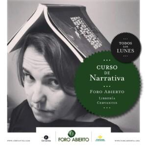 Curso de Narrativa - Foro Abierto @ Librería Cervantes | Oviedo | Principado de Asturias | España